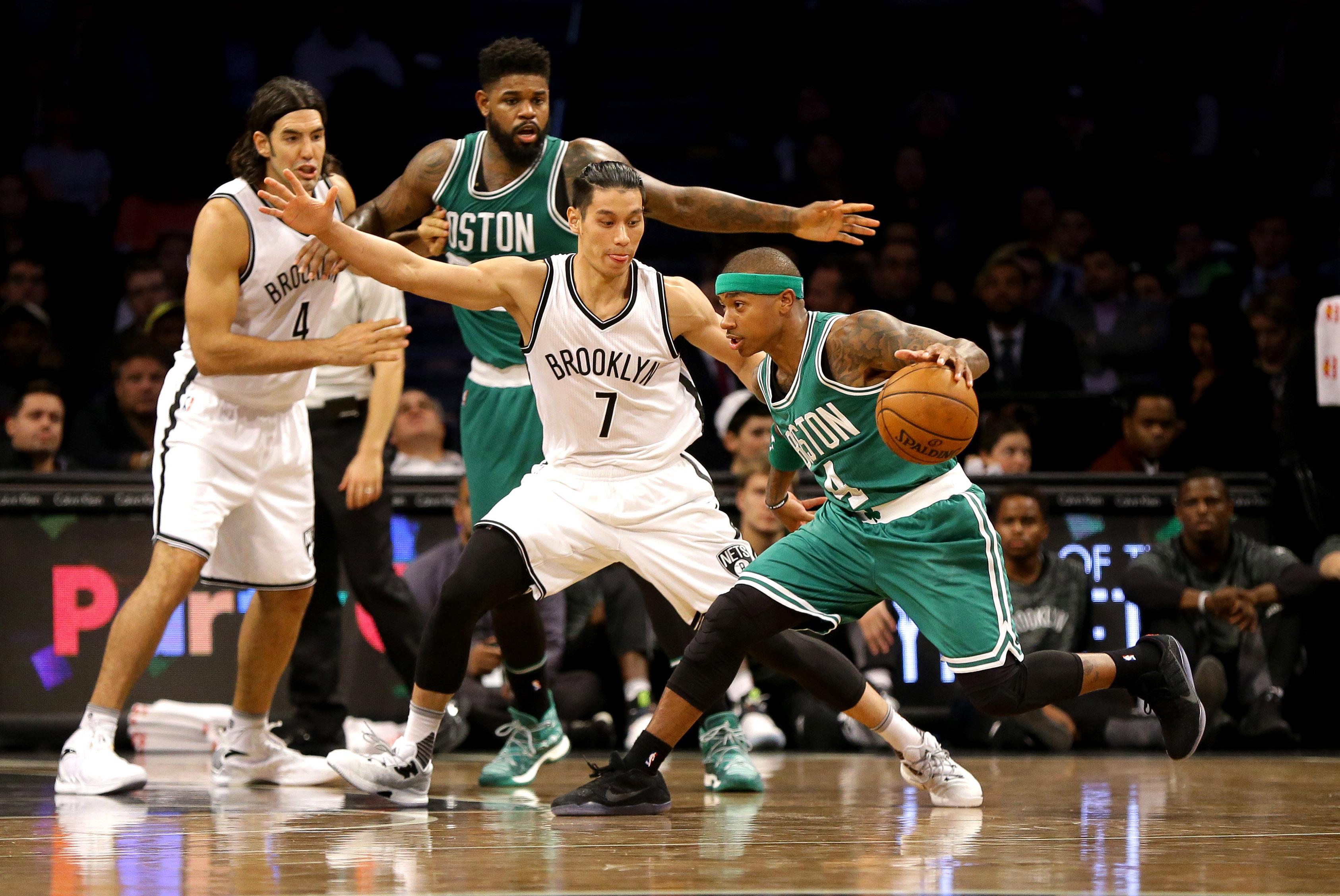 Jeremy Lin, Isaiah Thomas Matchup Highlights Nets' Opening Night 1