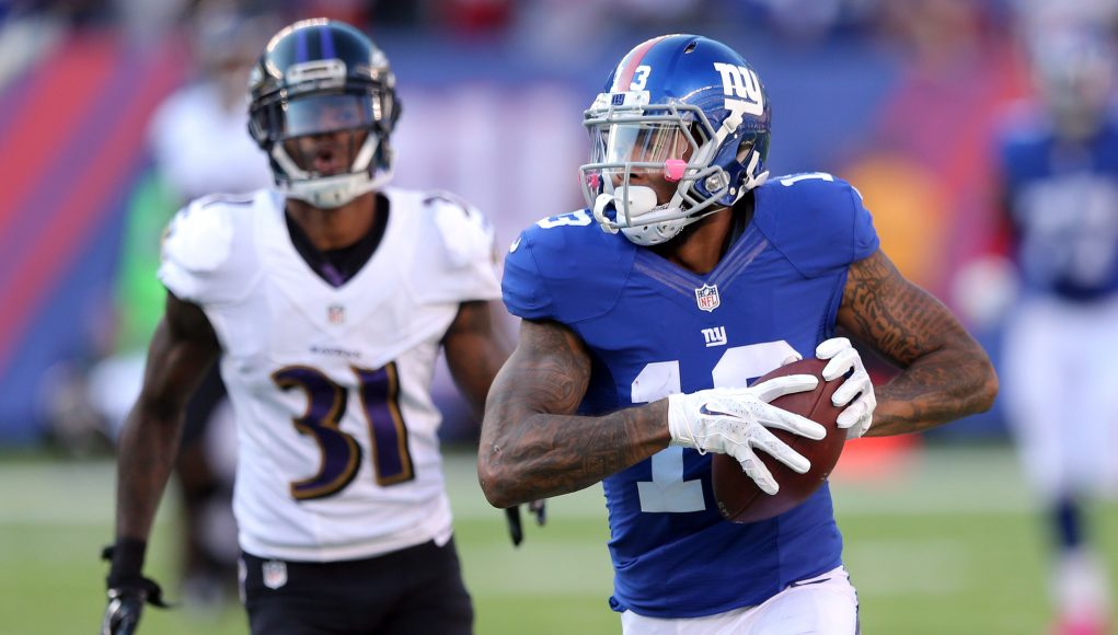New York Giants Game Grades: Eli Manning, Odell Beckham Jr. Flash Greatness 11
