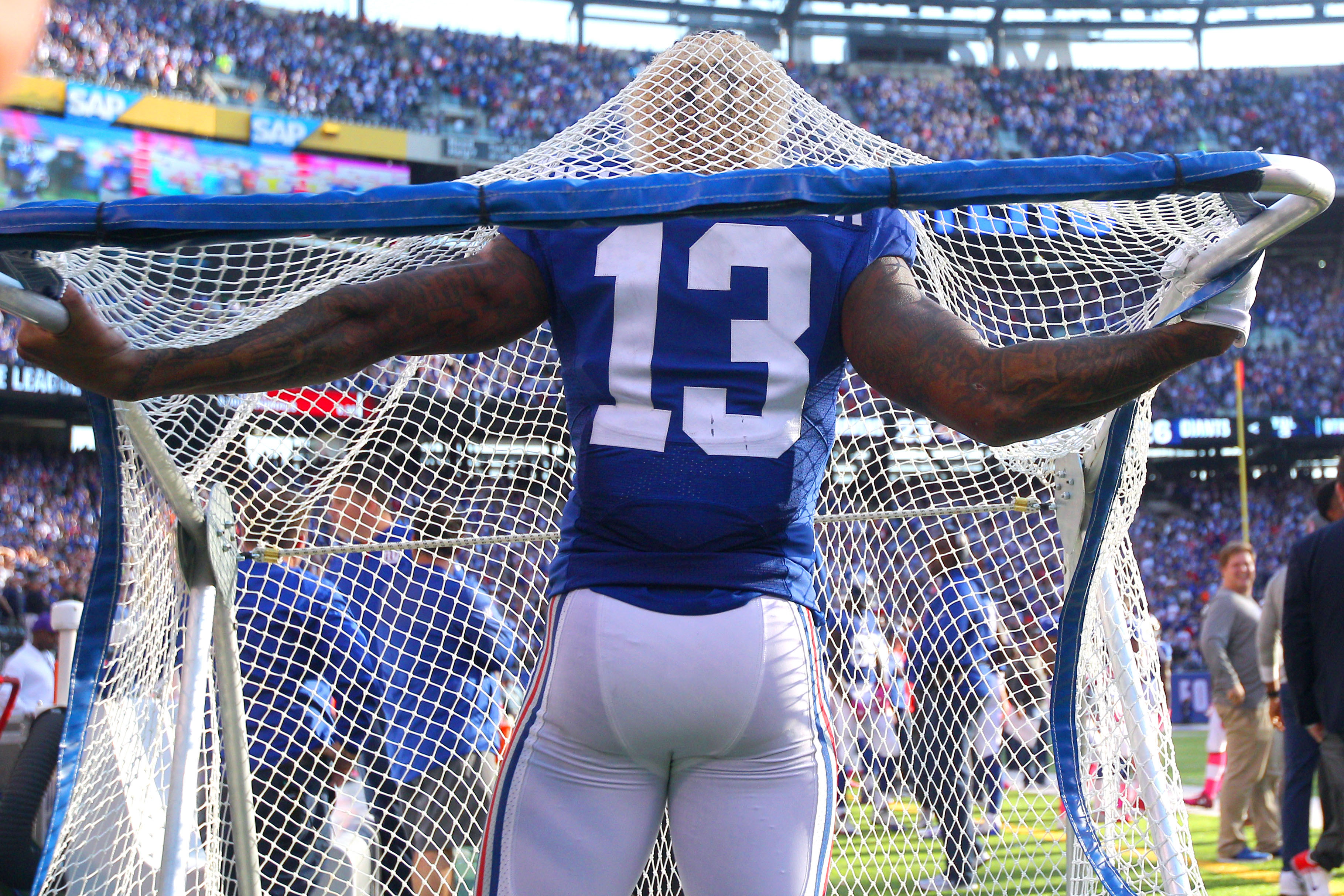 New York Giants' Eli Manning Says Odell Beckham Jr.'s Antics Can Make You 'Real Sick'