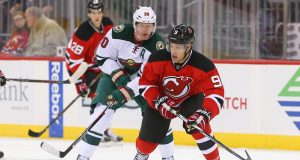 New Jersey Devils' Taylor Hall Beats Minnesota Wild In OT (Video)