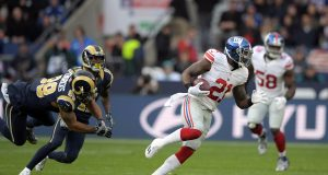 New York Giants 17, Los Angeles Rams 10: Landon Does London (Highlights) 2