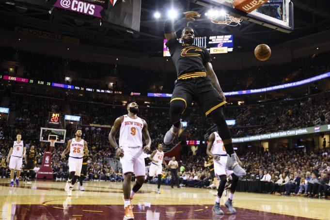 LeBron James, Cavs Throttle Melo & The Knicks, 117-88 (Highlights) 2