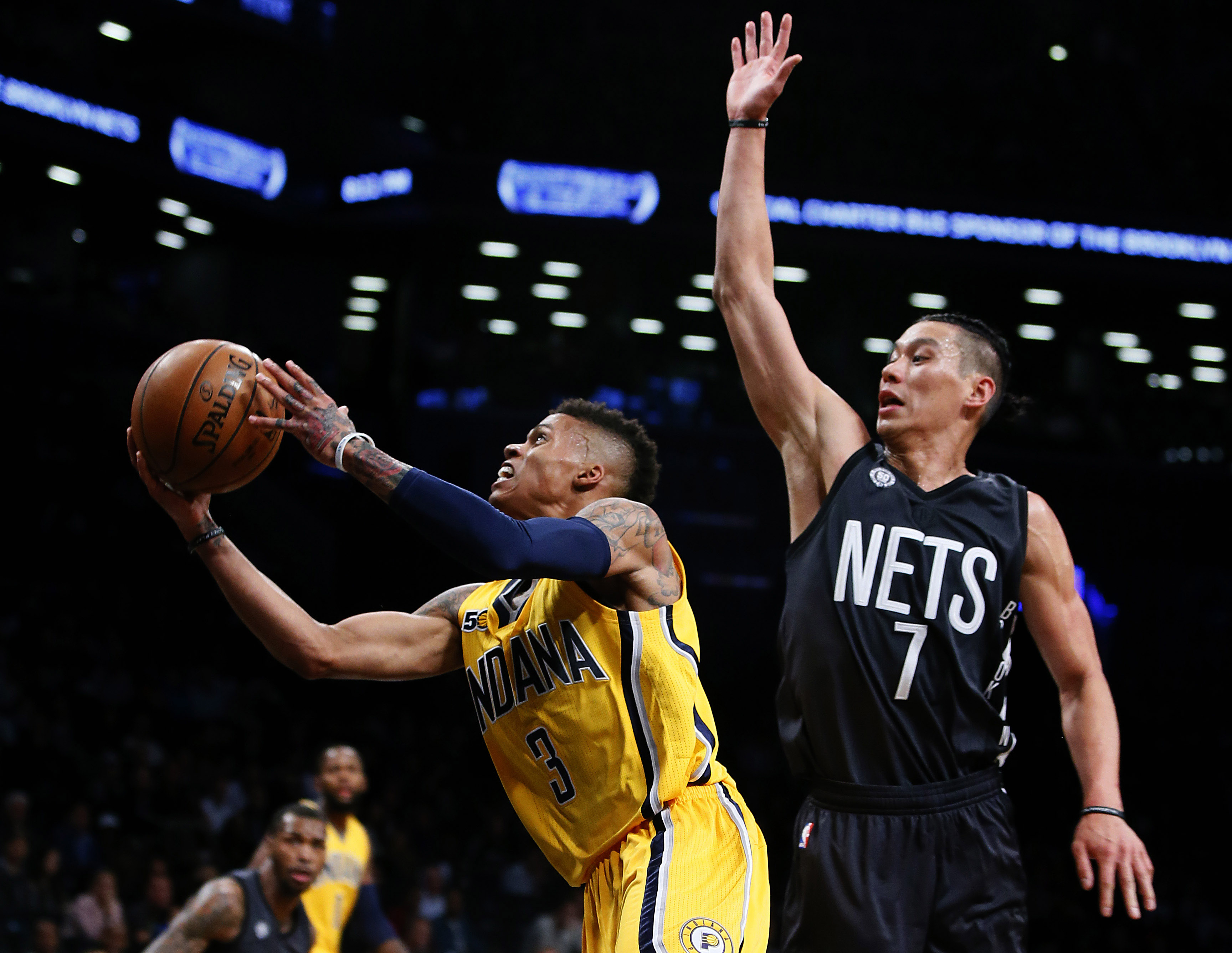 Jeremy Lin Dazzles In Barclays Center Debut As Brooklyn Nets Drop Pacers