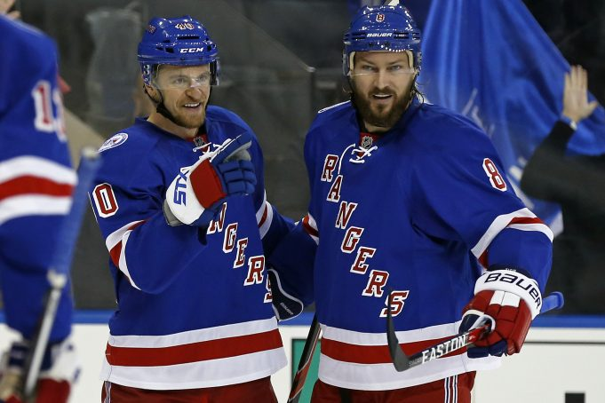 Grabner's Hat Trick Helps Rangers Take Paddle To Bolts (Highlights)