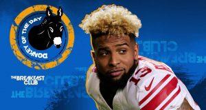 New York Giants: Odell Beckham Jr. Gets Breakfast Club 'Donkey Of The Day'