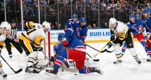 MSG crowd goes with mock cheer as New York Rangers get destroyed by Penguins (Video)