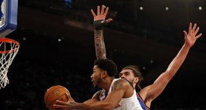 New York Knicks: Could Derrick Rose get a contract extension?