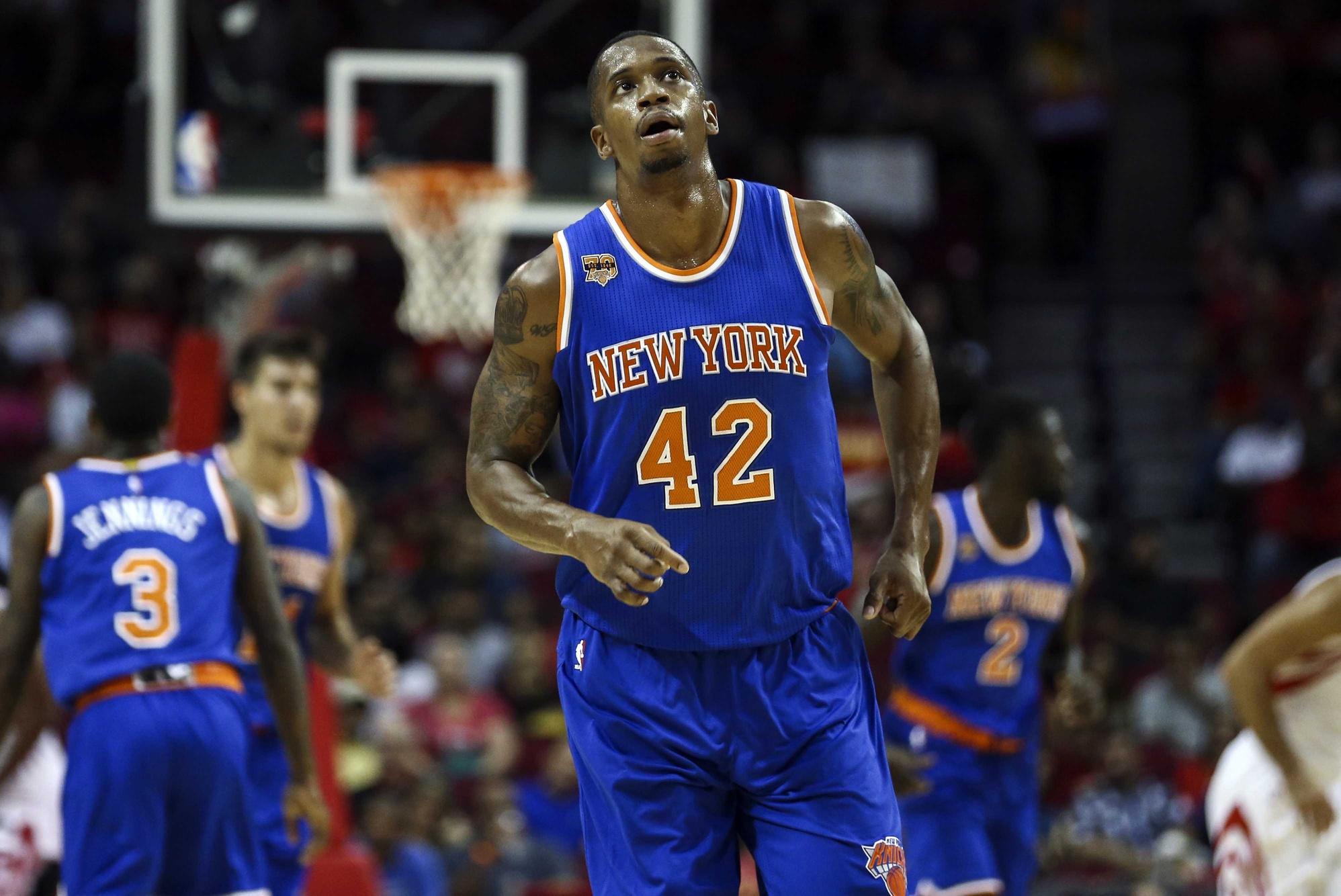 5e4991fed9a4 New York Knicks  Lance Thomas (Ankle) Out Tonight vs. OKC Thunder