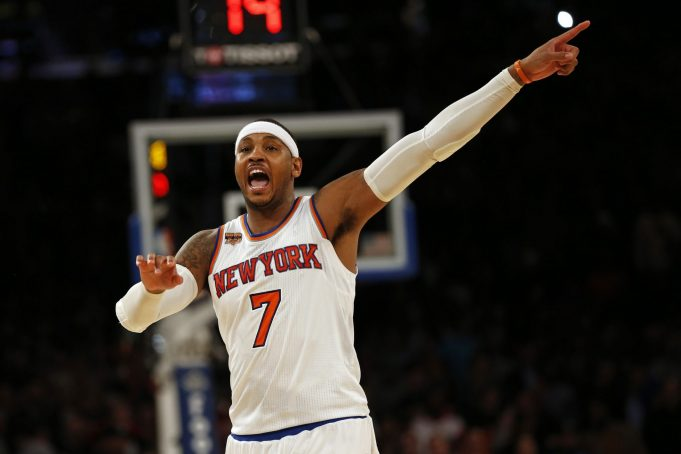 New York Knicks: Carmelo Anthony on Russell Westbrook staying in OKC