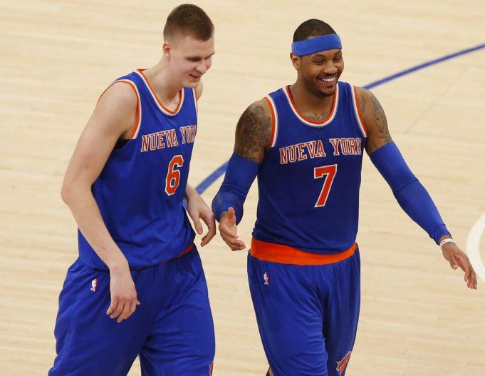 New York Knicks: Porzingis's team or Melo's? Doesn't matter to KP
