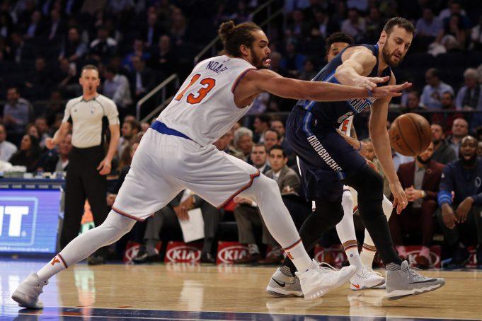 New York Knicks: Joakim Noah doesn't practice, doubtful tomorrow