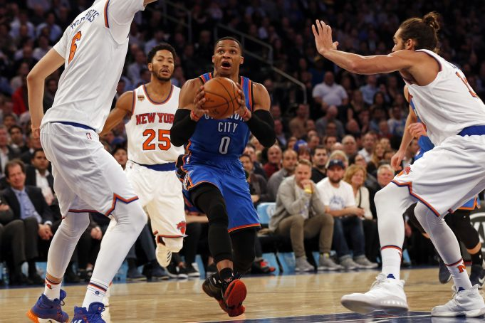 New York Knicks Lose to Thunder after another Russell Westbrook Triple-Double