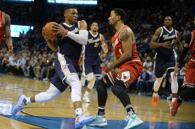 New York Knicks: Derrick Rose's latest test is Russell Westbrook