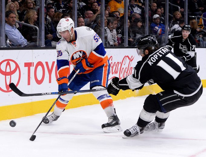 New York Islanders must maintain pressure against Los Angeles Kings