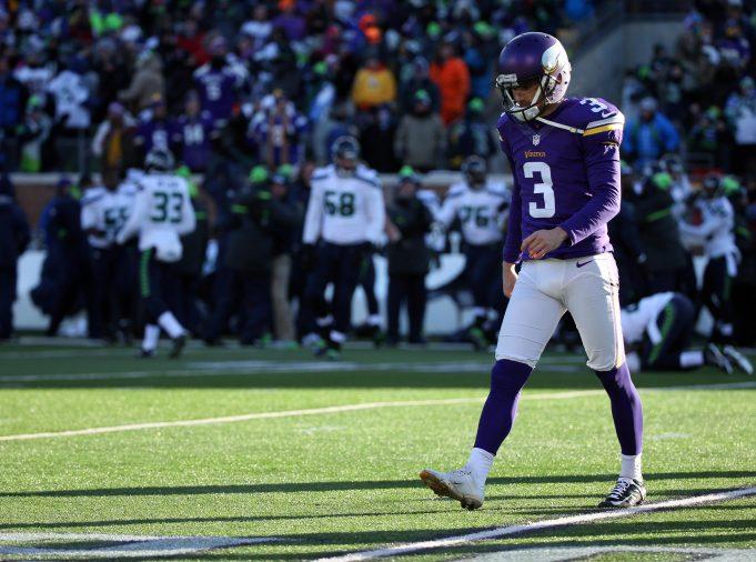 Minnesota Vikings Release Struggling Kicker Blair Walsh