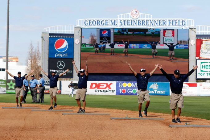 New York Yankees Announce 2017 Spring Training Schedule
