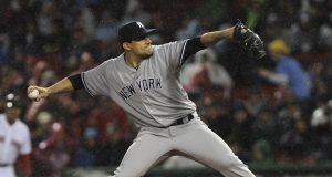 New York Yankees designate RHP Nathan Eovaldi for assignment (Report)