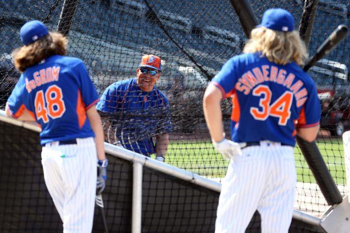 New York Mets' Noah Syndergaard Can't Handle Bartolo Colon Leaving