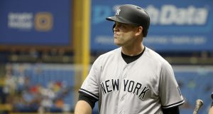 The New York Yankees trade Brian McCann to the Houston Astros