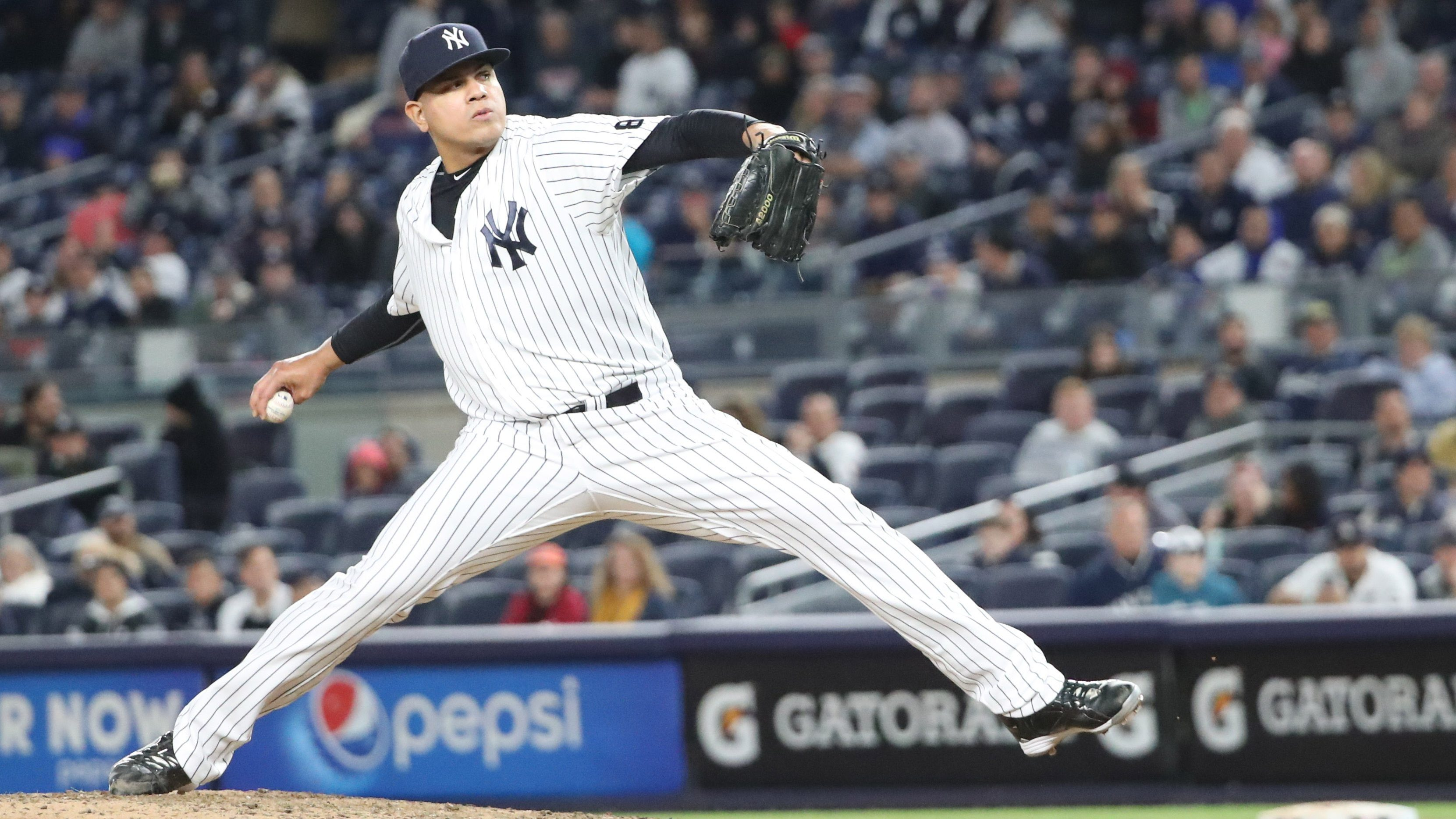ea66557cfb9 New York Yankees RP Dellin Betances late to camp due to birth of his son