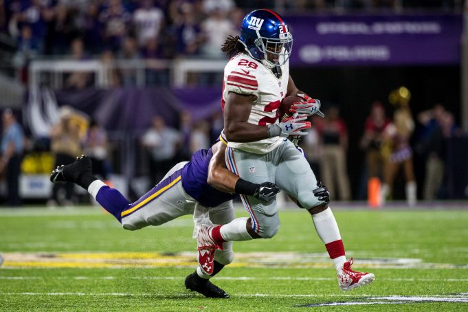 New York Giants: It's Time For Paul Perkins To Be The Starting RB 2