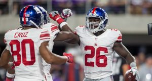 New York Giants RB Orleans Darkwa lands on IR, S Eric Pinkins elevated from the PS