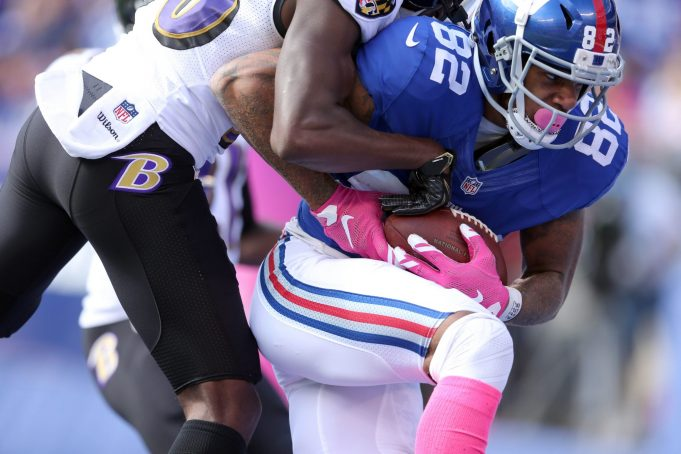 New York Giants WR Roger Lewis makes the trip to Cleveland