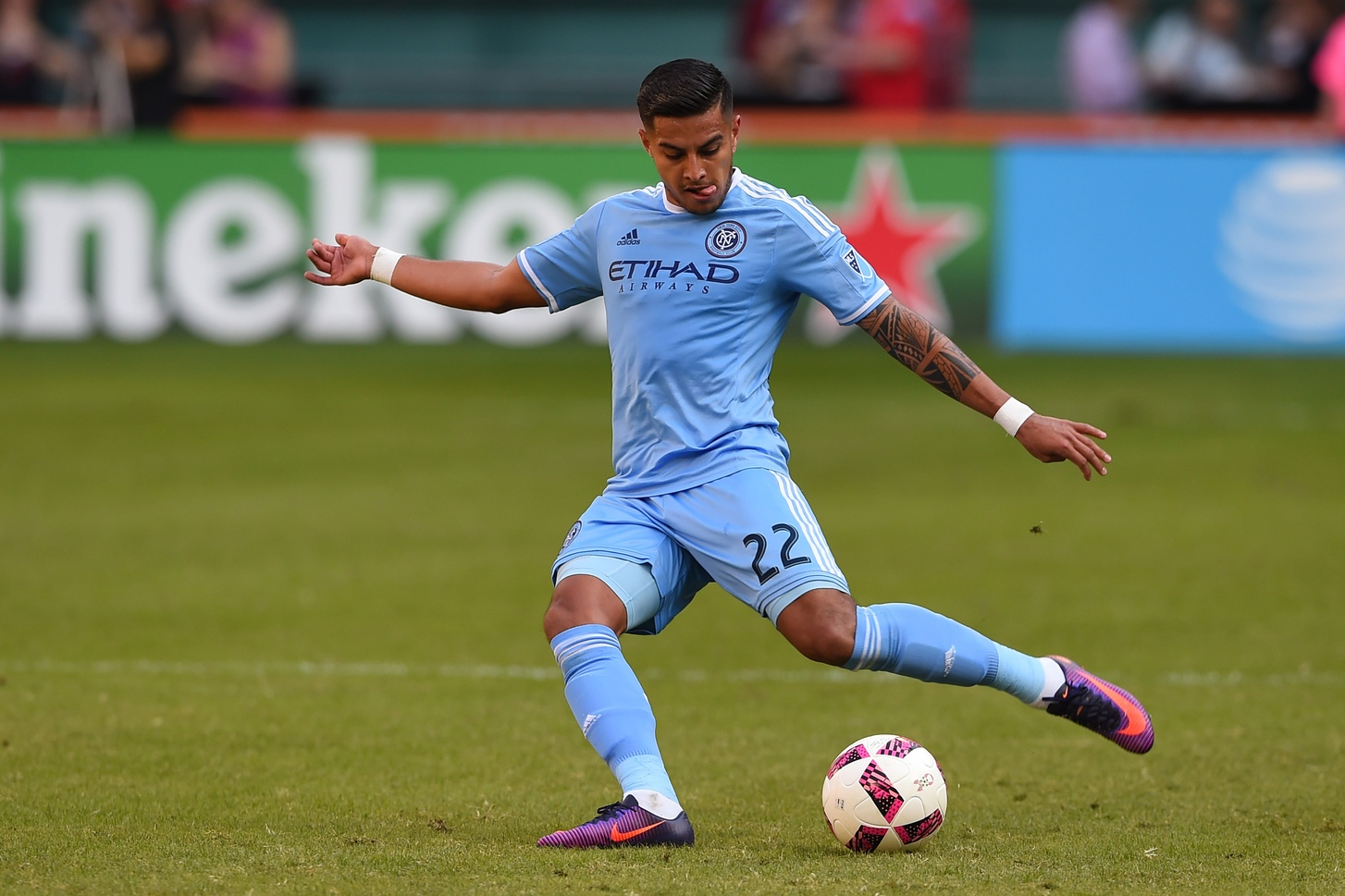 NYCFC Players Hitting Nets in World Cup Qualifiers