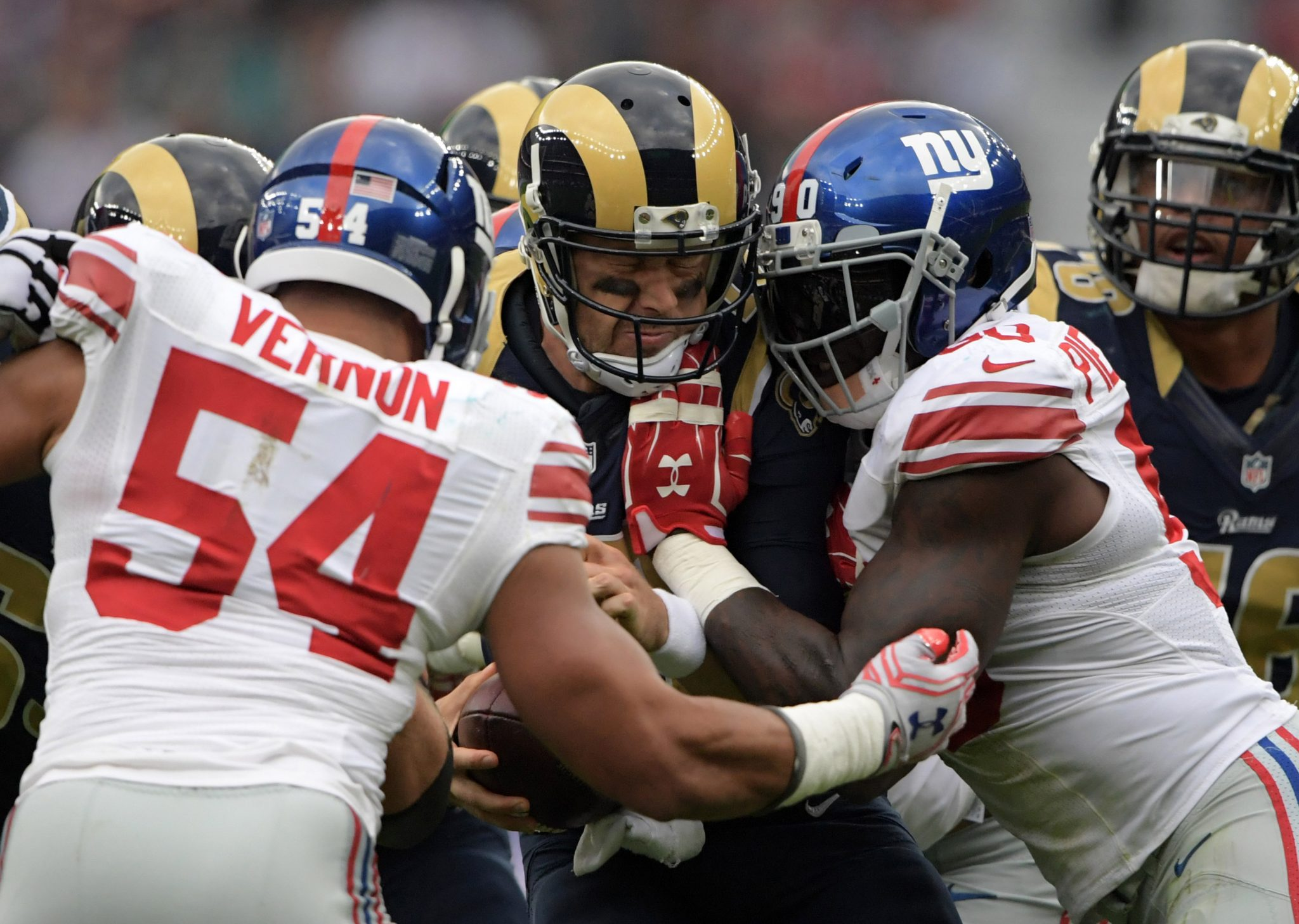 New York Giants: Olivier Vernon and JPP should be licking their chops vs. Browns