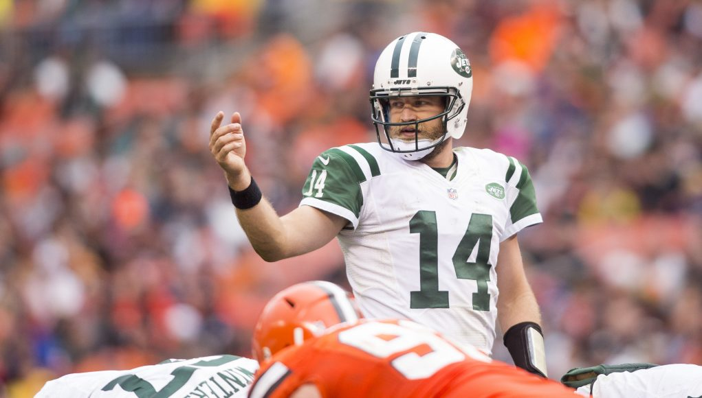 Why is Ryan Fitzpatrick the New York Jets QB once again? 3