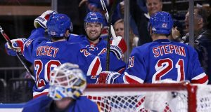Vesey, Rangers Continue Offensive Dominance Against Blues (Highlights) 2