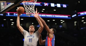 Brook Lopez, Nets Skate Past Pistons At Home (Highlights)