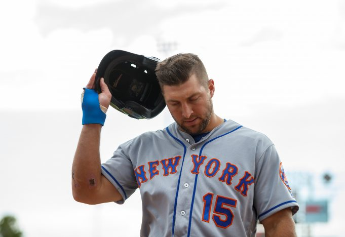 New York Mets' Tim Tebow: 'Awful, terrible, ugly,' scouts say