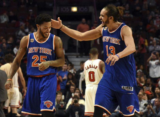 New York Knicks Find Kristaps Porzingis Early, Defeat Chicago Bulls (Highlights) 2