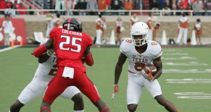Texas Tech's Douglas Coleman Pulls Off Play Of The Year Against Texas (Video)