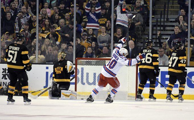 Pavel Buchnevich, New York Rangers Destroy Boston Bruins 5-2 (Highlights) 2