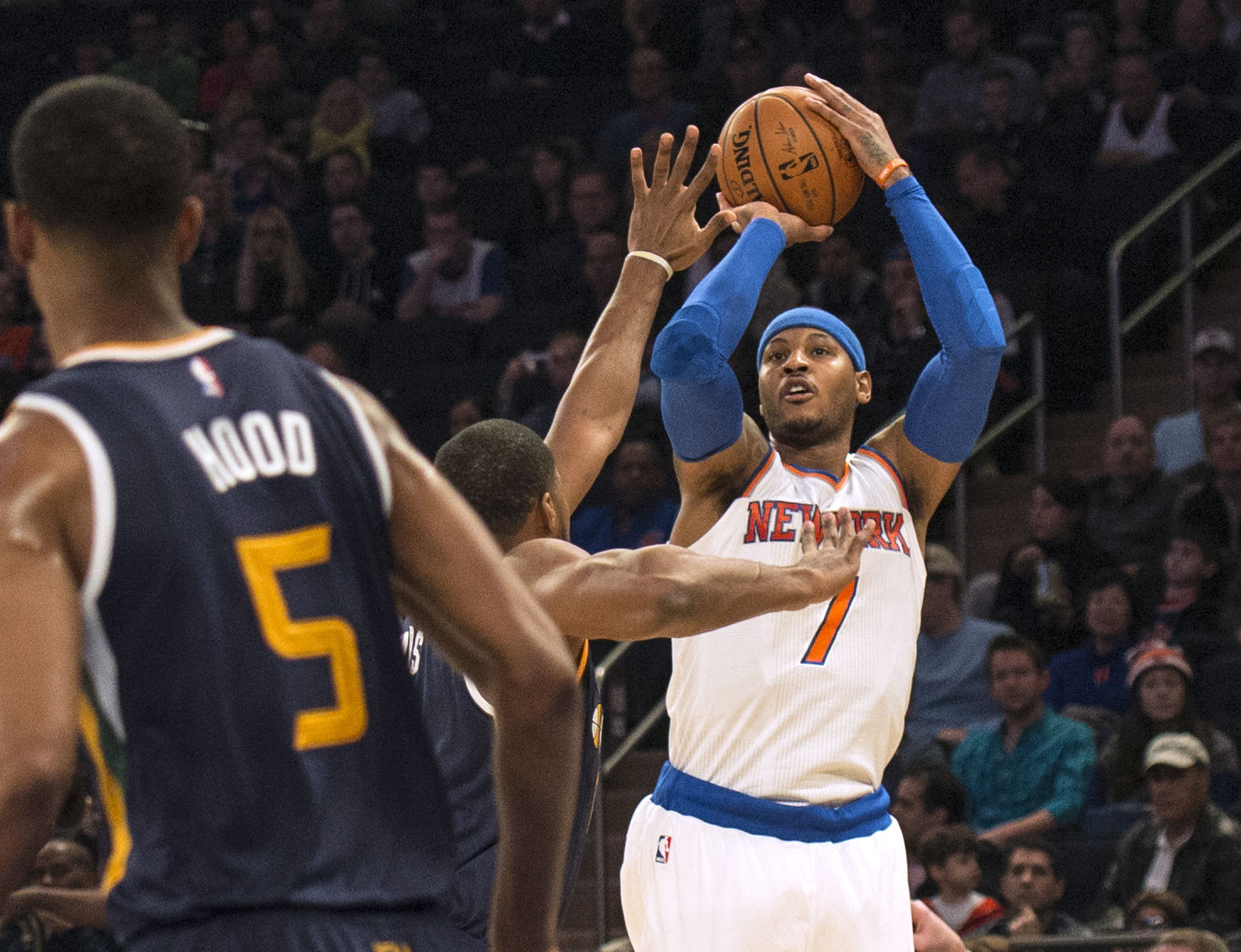 Carmelo Anthony, New York Knicks Can't Handle Utah Jazz (Highlights)