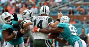 Ryan Fitzpatrick, New York Jets Lose Stinger To Miami Dolphins (Highlights)