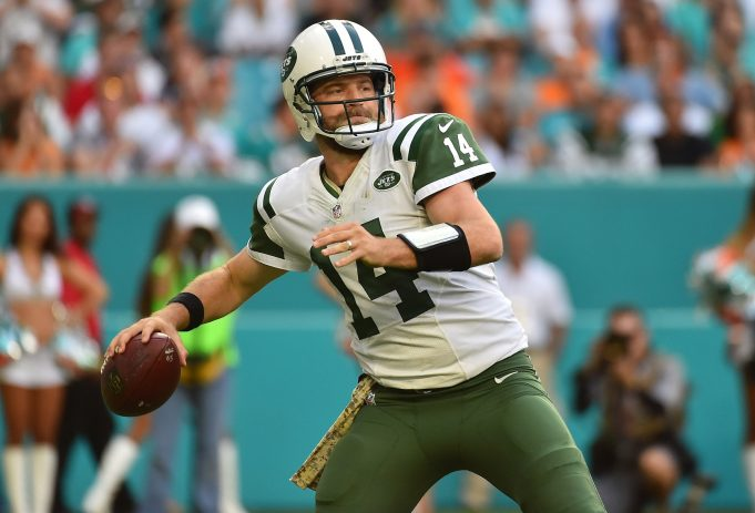 New York Jets' Ryan Fitzpatrick named starter against the Patriots