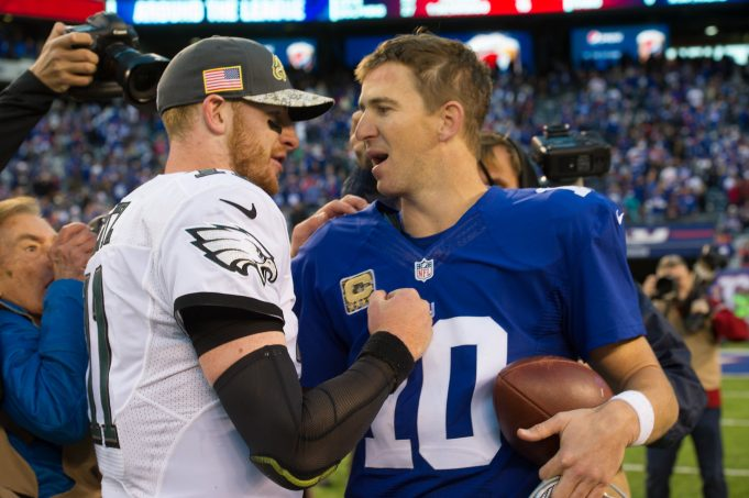 New York Giants' Eli Manning Gets Idiotically Trashed By Chris Simms, London Fletcher