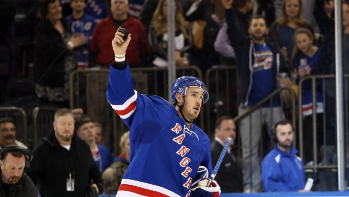 New York Rangers agree to terms with Kevin Hayes