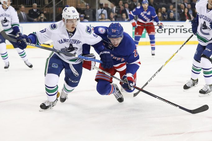 New York Rangers Drop One To The Vancouver Canucks (Highlights)