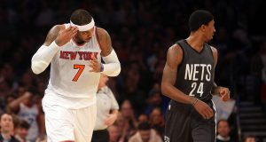 Carmelo Anthony Gets Hot, New York Knicks Surge Past Brooklyn Nets (Highlights)