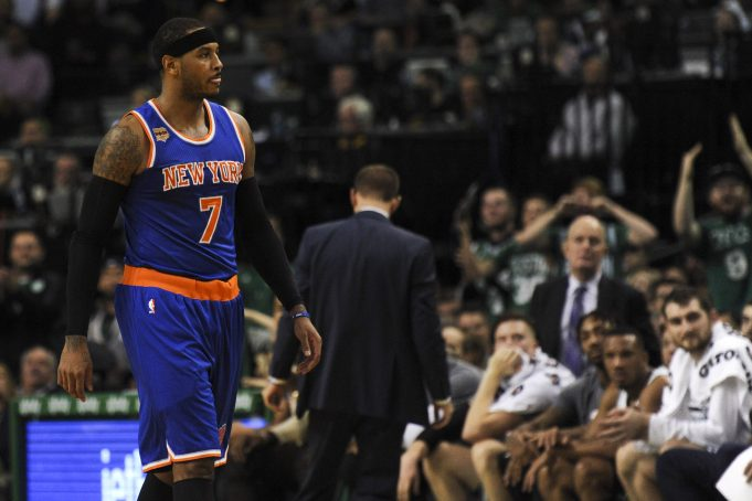 Carmelo Anthony: Tony Brothers Has Personal Issue with Me