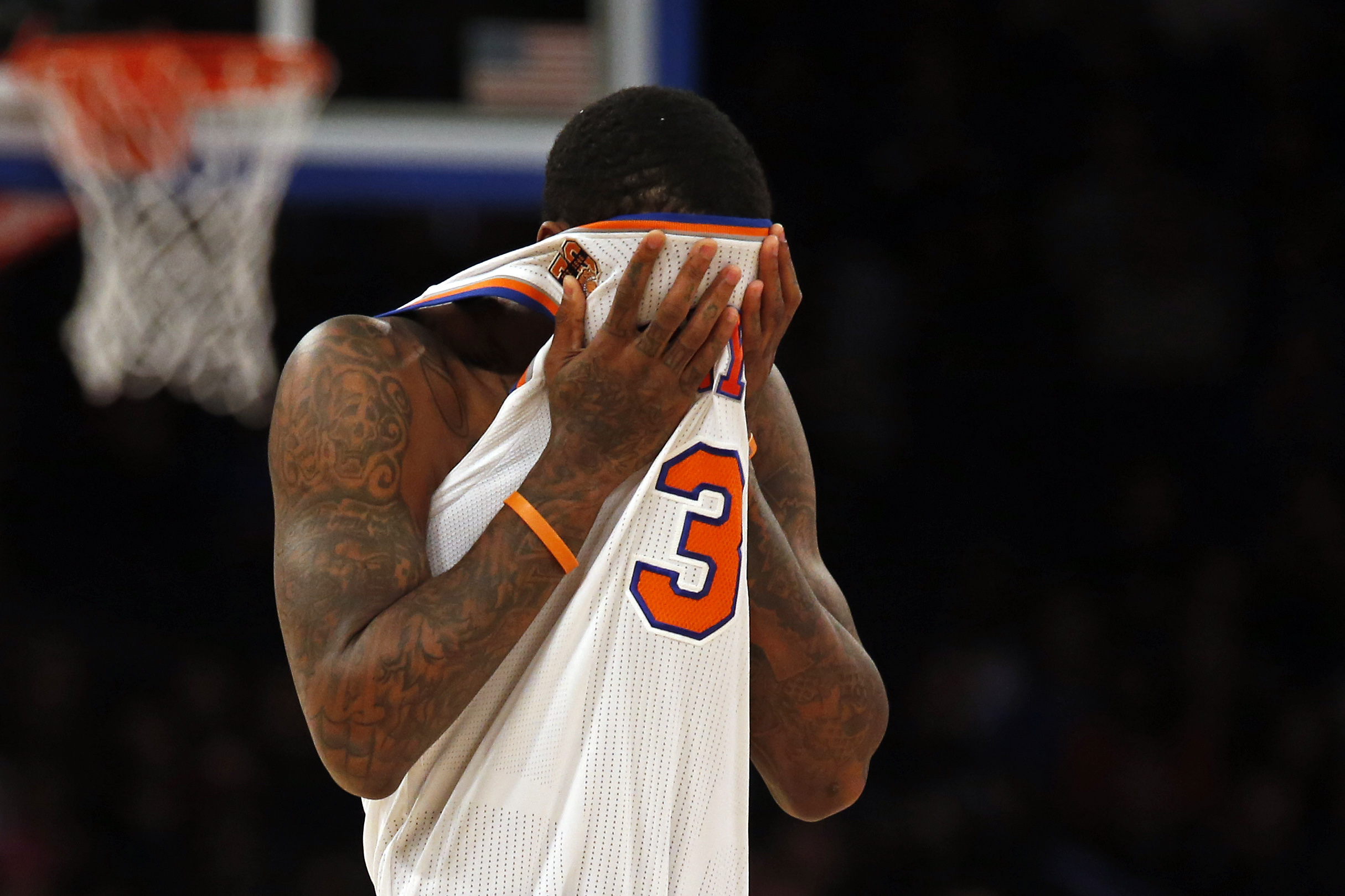 New York Knicks PG Brandon Jennings' frustration boils over 1