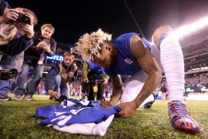 New York Giants WR Odell Beckham Jr. Finds Motivation From Conor McGregor 2