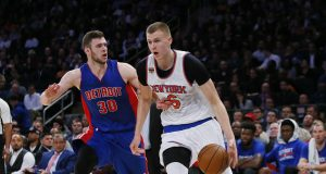 The New York Knicks are Kristaps Porzingis' team now
