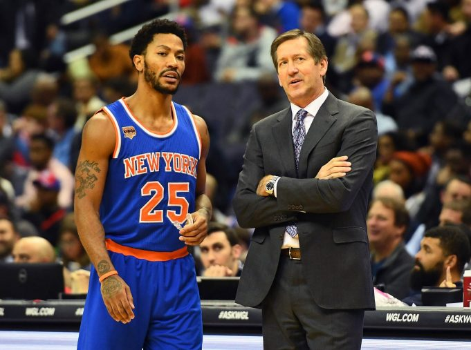 Derrick Rose and Brandon Jennings are creating a good problem for the New York Knicks