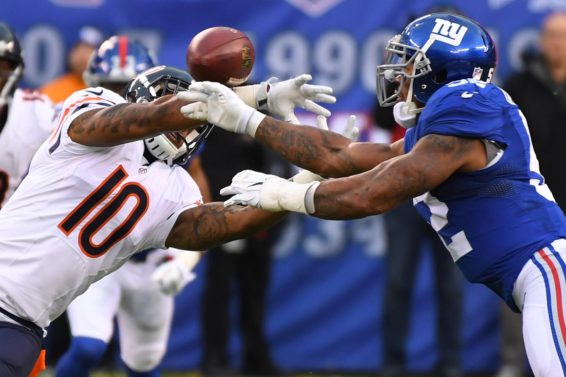 New York Giants: Pro Football Focus ranks Jonathan Casillas the worst player in Week 12
