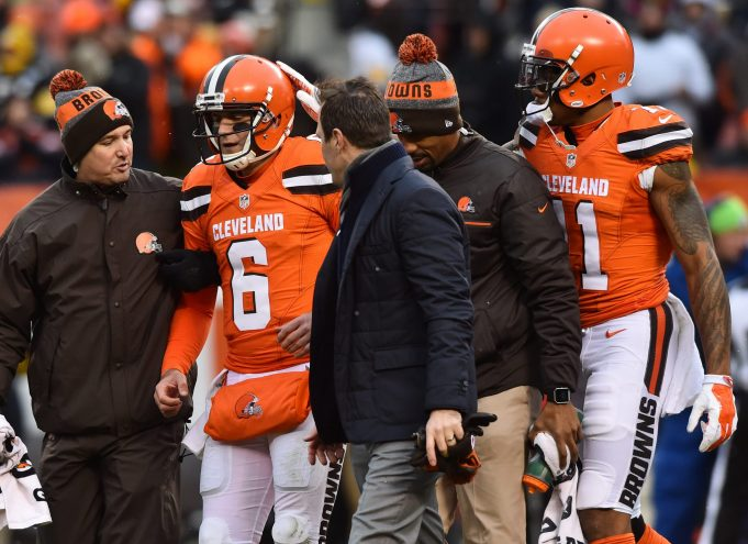 New York Giants: Browns QB Cody Kessler officially ruled out for Sunday's game 1